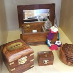 Sheesham wood boxes