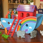 Large rainbow Noah's Ark from Lanks Kade