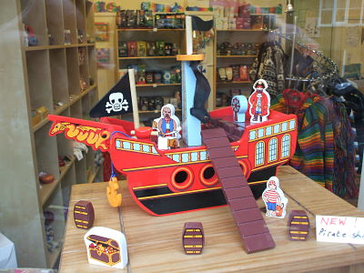 Pirate ship from Lanka Kade