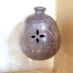 Soapstone garlic pot
