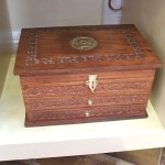 Sheesham wood jewellery box